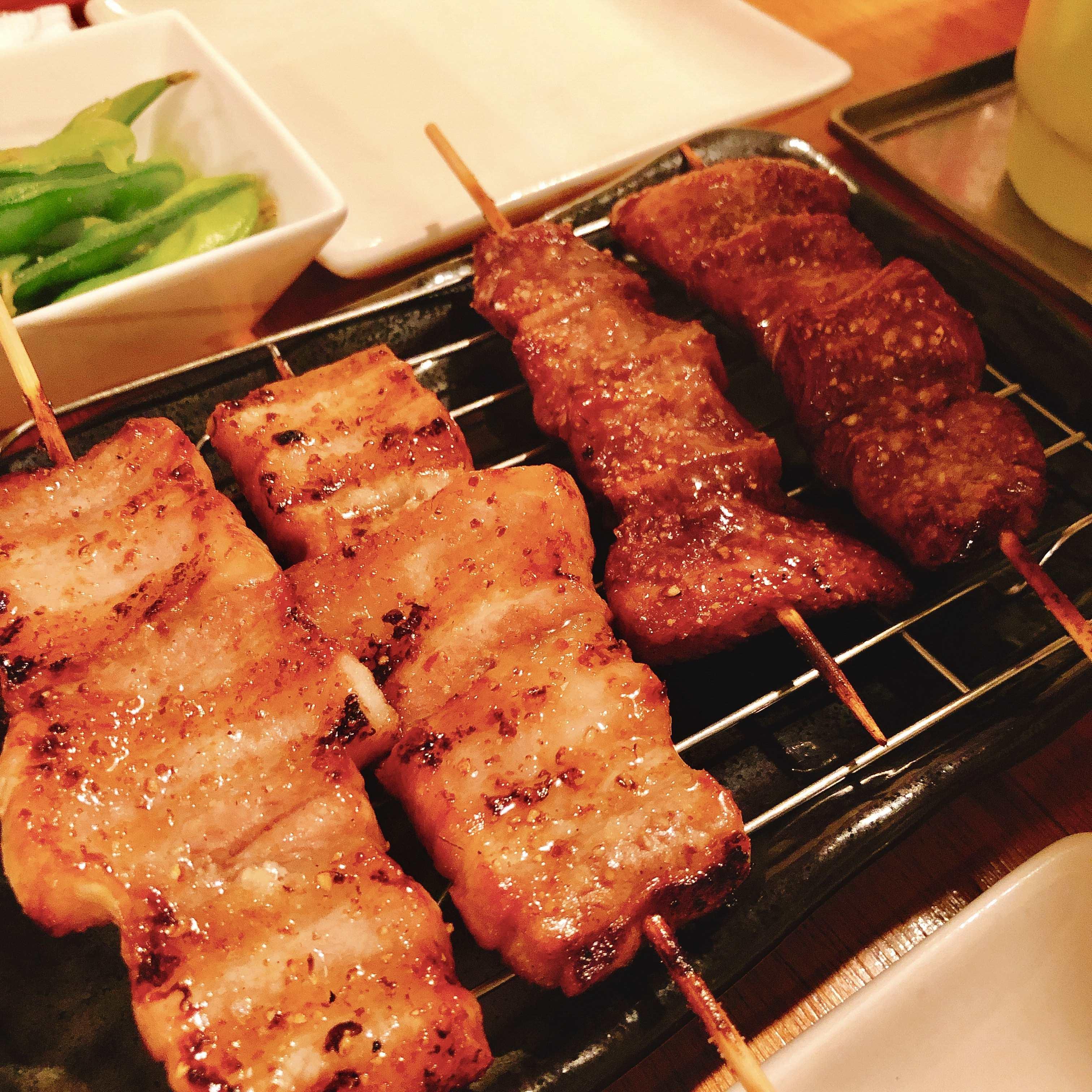 予算4000円 京橋では珍しい焼きトンを食べられる「チチカブ」