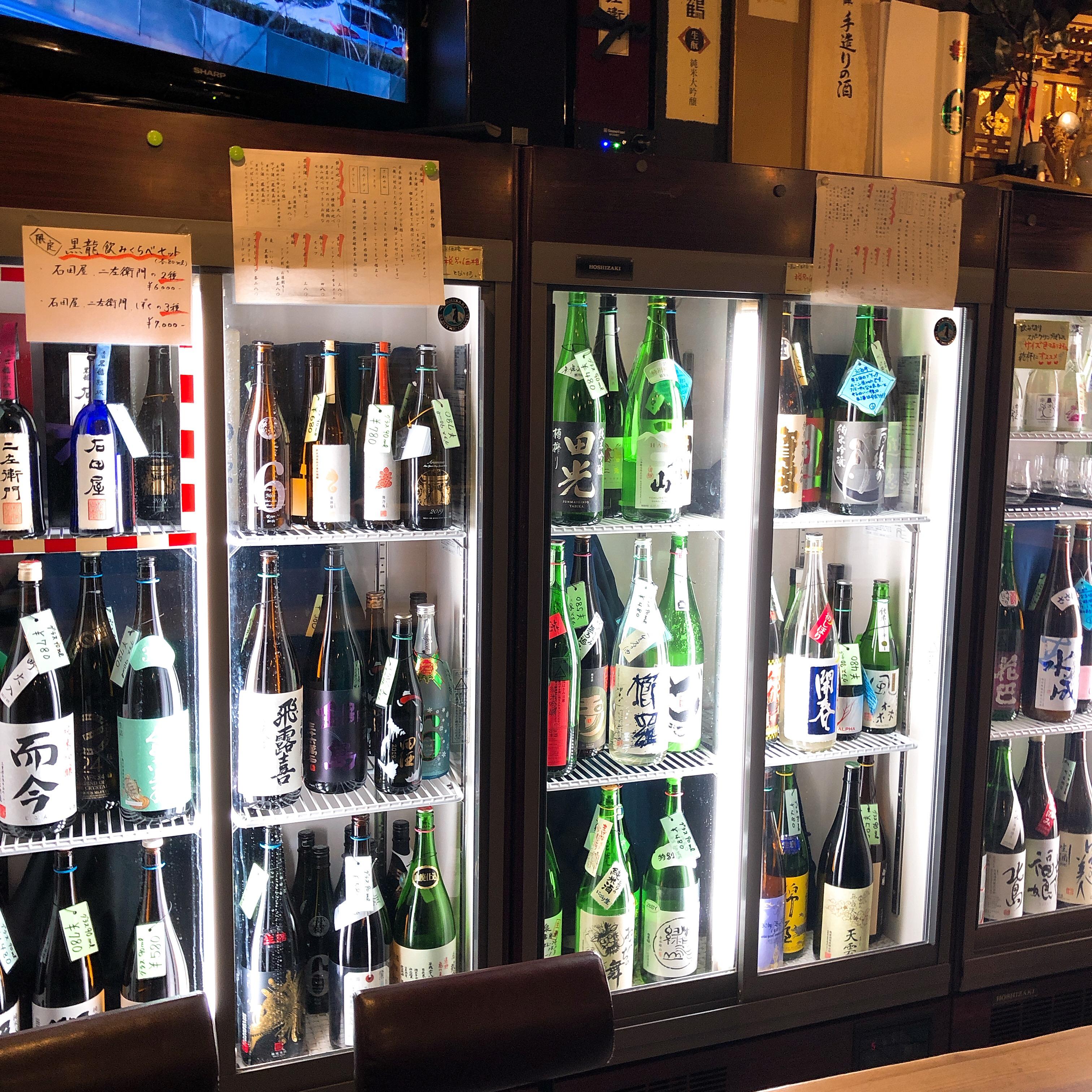 予算2000円 心斎橋徒歩2分で日本酒を気軽に呑める「うなぎだに」