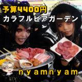 ☘予算4400円☘ 若者よ!これぞ現代版ビアガーデン │ 韓国料理ビアガーデン nyam nyam
