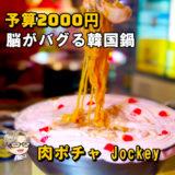 ☘予算3000円☘ まってまって!これ一体なに味ですか??│肉ポチャ Jockey
